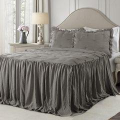 Pintuck Bedspread Set