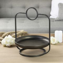 Handsome Round Metal Tray