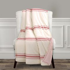 Striped Country Throw Blanket