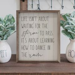Life Isn't About Waiting Wall Art