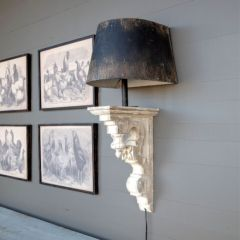 Rustic Farmhouse Wall Sconce Lamp