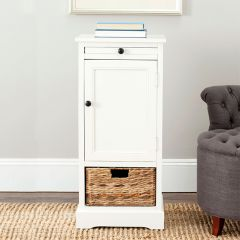 Accent Cabinet With Basket