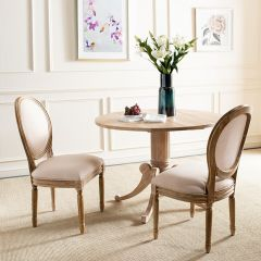 French Country Charm Side Chair Set of 2