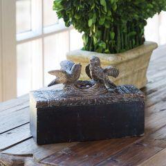 Birds and Nest Decorative Box