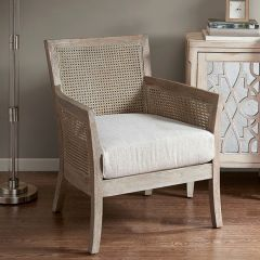 Cane Back Cottage Accent Chair