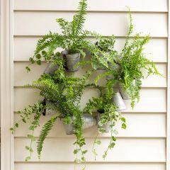 Rusty Tin Bucket Wreath