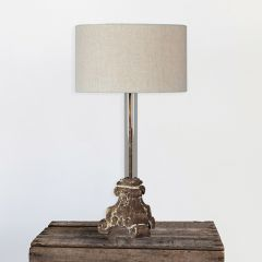Old World Rustic Table Lamp