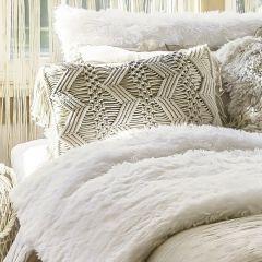 Boho Chic Macrame Pillow Cover