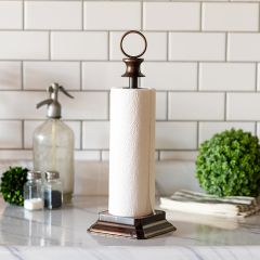 Upscale Country Paper Towel Holder
