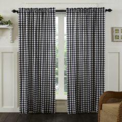 Buffalo Check Curtain Panel Set of 2