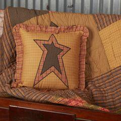 Rustic Ruffle Star Pillow