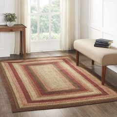 Country Jute Rug With Pad
