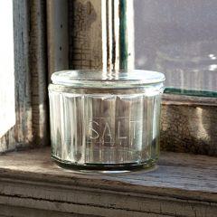 Depression Style Salt Cellar