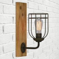 Industrial Flair Sconce