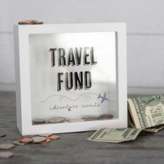 Travel Fund Adventure Tabletop Bank