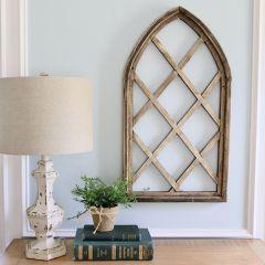Lattice Arched Window