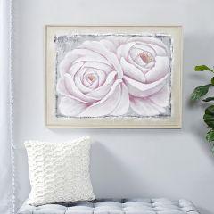 Framed Roses Wall Art