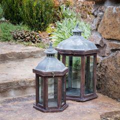 Villa Park Hill Lantern Set of 2