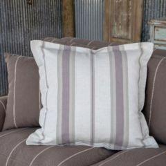 Pastel Striped Throw Pillow