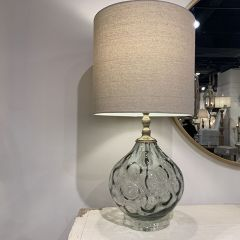 Country Glass Table Lamp
