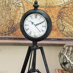 Tripod Base Tabletop Clock