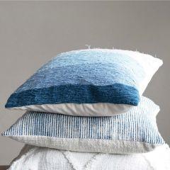 Ocean Waves Ombre Accent Pillow