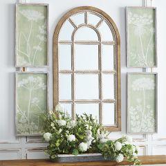 Arch Twist Wall Mirror