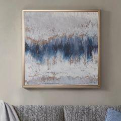 Abstract Beauty Framed Canvas Wall Art