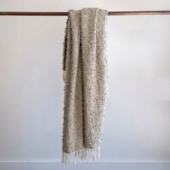 Simple Tasseled Throw Blanket