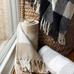 Classic Farmhouse Buffalo Check Throw Blanket