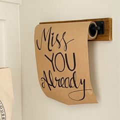 Wall Mounted Note Paper Holder