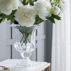 Elegant Crystal Urn Vase Large