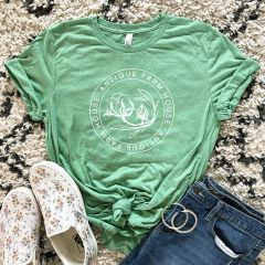 AFH Logo Tee Shirt Green