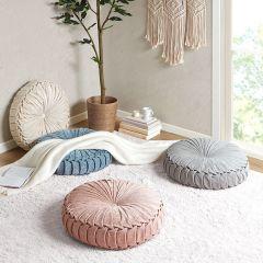 Cozy Cottage Round Floor Cushion