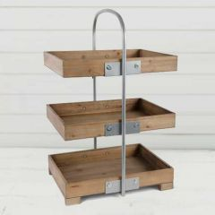 3 Tier Display Tray Stand