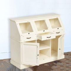 Gorgeous Farmhouse Bakery Display Cabinet | SHIPS FREE