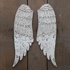 Exquisite Wooden Angel Wings