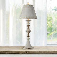 Rustic Beauty Buffet Lamp