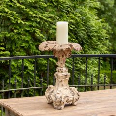 Old World Relic Inspired Candle Holder