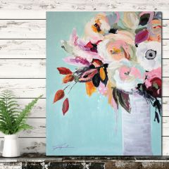 Beautiful Floral Canvas Wall Art