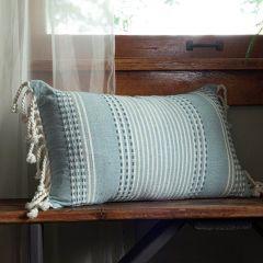 Shades of Blue Lumbar Pillow