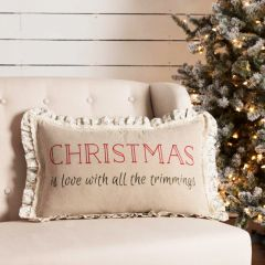 Christmas Is Love Accent Pillow