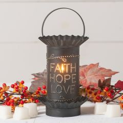 Faith Hope Love Mini Wax Warmer