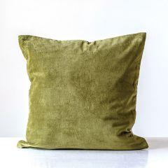 Cotton Velvet Accent Pillow