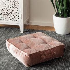 Romantic Velvet Floor Cushion