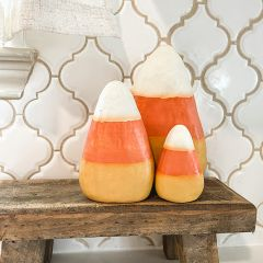 Decorative Candy Corn Pieces Set of 3