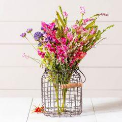 Wire Jug Vase