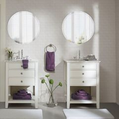 8 Piece Cotton Towel Set Purple