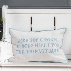 Reversible Inspirational Accent Pillow