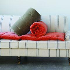 Tufted Velvet Bench Cushion